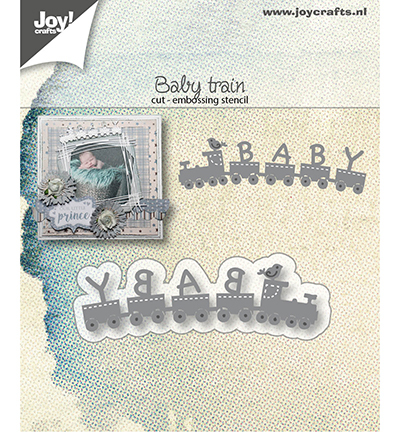 Joy!Crafts mallen Baby-trein