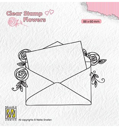 Nellies Choice stempel Love Letter