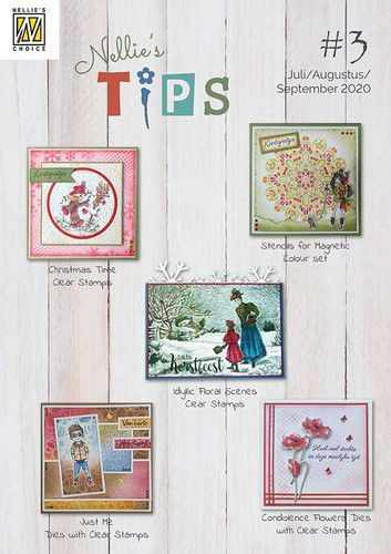 Folder Nellie s Tips nr.3  Juli Aug. en Sept. 2020