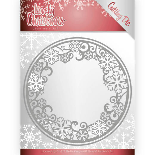 Dies - Jeanine's Art - Lovely Christmas - Lovely Circle Frame