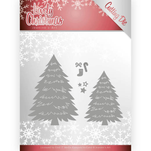 Dies - Jeanine's Art - Lovely Christmas - Lovely Trees