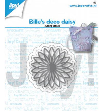 Joy!Crafts mallen Bille Deco Daisy