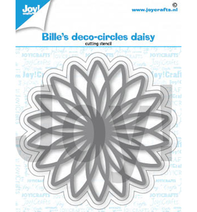 Joy!Crafts mallen Bille  Deco- Circles Daisy