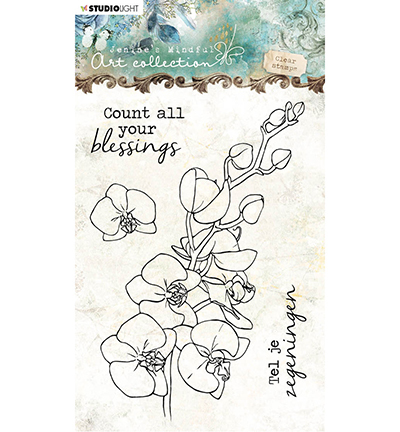 Studio Light stempel Jenine's Orchidee