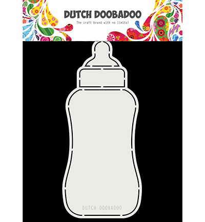 Dutch Doobadoo Card Art Baby Bottle