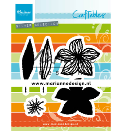 Marianne Design mallen CR1493 Open Flowers