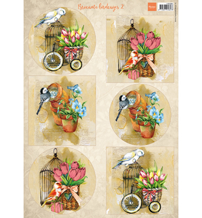 Marianne Design knipvel Birds & Birdcages 2
