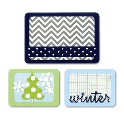 Sizzix Thinlits Die Set - Winter 3PK 659757 Life Made Simple