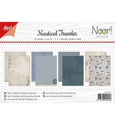 Joy!Crafts Papierset Design Nautical Traveler