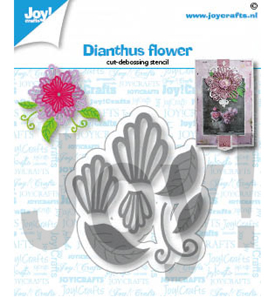 Joy!Crafts mallen Dianthus bloem