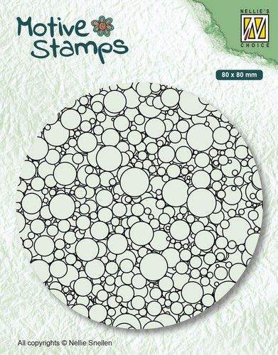 Nellies Choice stempel TXCS013 Texture Bubbles
