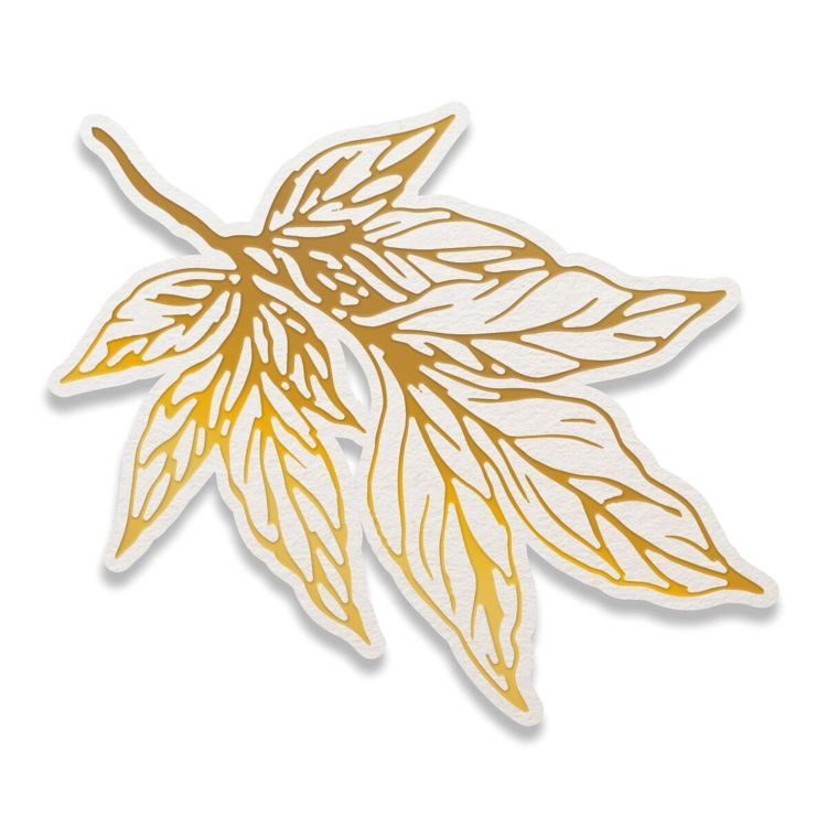Leafy Branch Cut, Foil and Emboss Die (1pc)