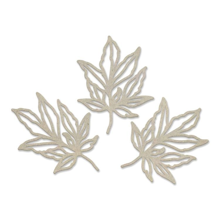 Leafy Branches Chipboard Set (3pc)