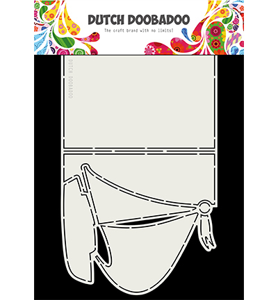 Dutch Doobadoo Card Art 3764 Zeilboot