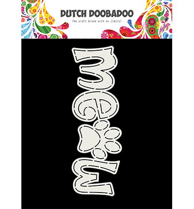 Dutch Doobadoo Card Art 3761 Meow