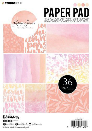 Studio Light Paper pad A5 Karin Joan Blooming Collection nr.02
