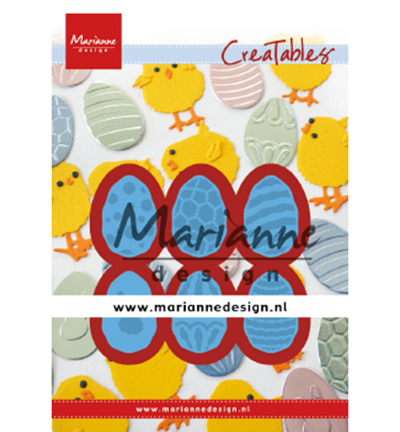 Marianne Design mallen LR0643 Easter Eggs