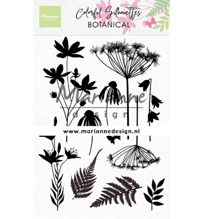 Marianne Design stempels CS1048 Colorful Silhouette - Botanical