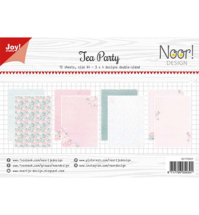 Joy!Crafts Papierset Design Tea Party