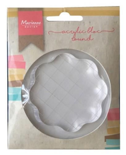 Marianne D Tools Acrylic stamp bloc (klein) LR0012