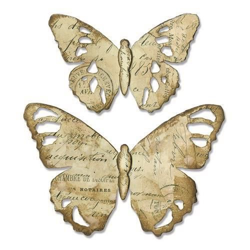 Sizzix Bigz Die - Tattered Butterfly 664166 Tim Holtz (01-19)