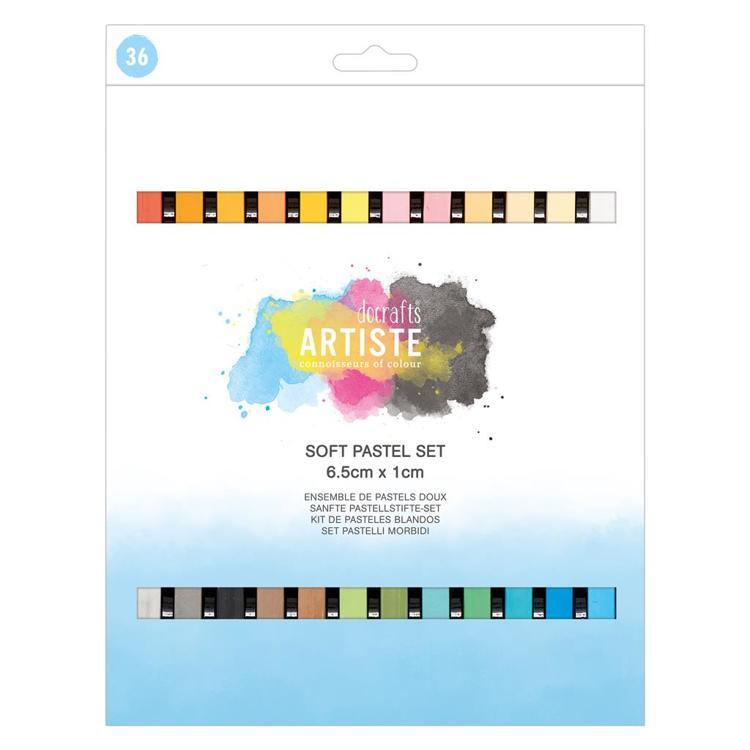 Soft Pastels - 36pcs