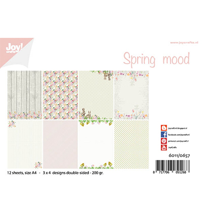 Joy!Crafts Papierset Design Spring mood