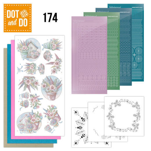 Dot and Do 174 - Yvonne Creations - Flowers in Pastel