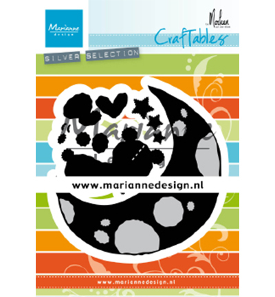 Marianne Design mallen CR1503 Dreaming Bear by Marleen