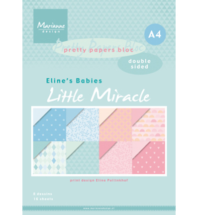 Pretty Papers Bloc PB7058 Little Miracles