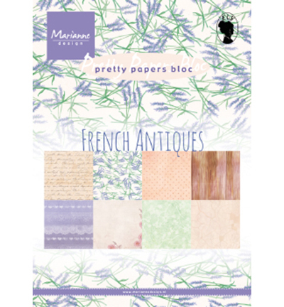 Pretty Papers Bloc PK9167 French Antiques