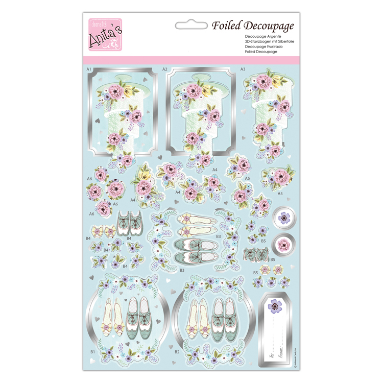 Foiled Decoupage - Always & Forever