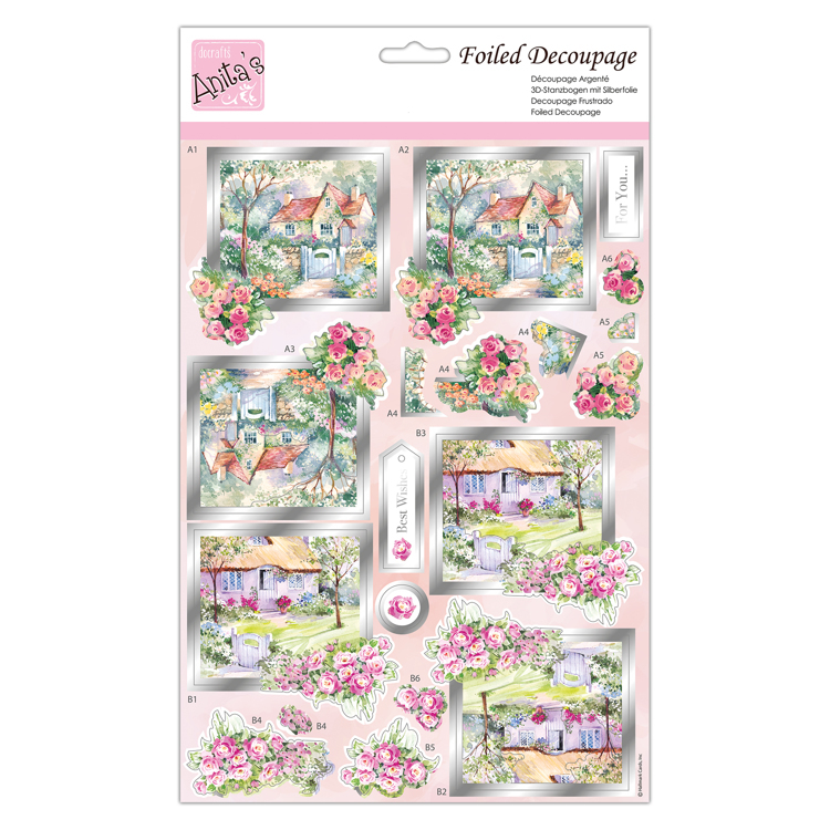 Foiled Decoupage - Picture Perfect