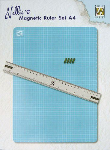 Nellies Choice MAGM001 Magnetic Ruler set A4 (01-20)