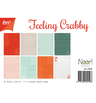 Joy!Crafts Papierset Design Feeling Crabby