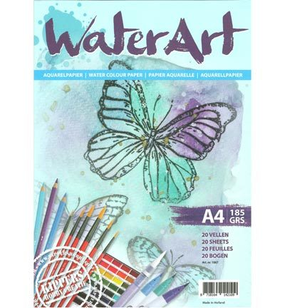 WaterArt Papier 20 sheets