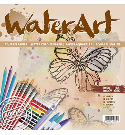 Water Art Papier 12 sheets