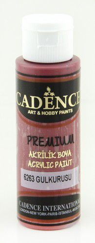 Cadence Premium acrylverf (semi mat) Dried Rose 01 003 6263 0070  70 ml