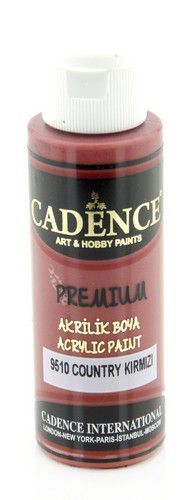 Cadence Premium acrylverf (semi mat) Country Red 01 003 9510 0070  70 ml