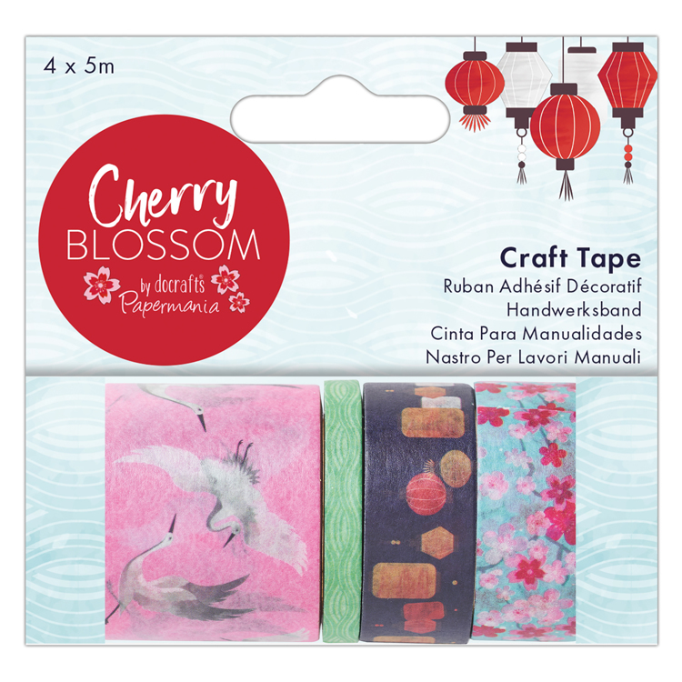 Craft Tape (4 x 5m) - Cherry Blossom