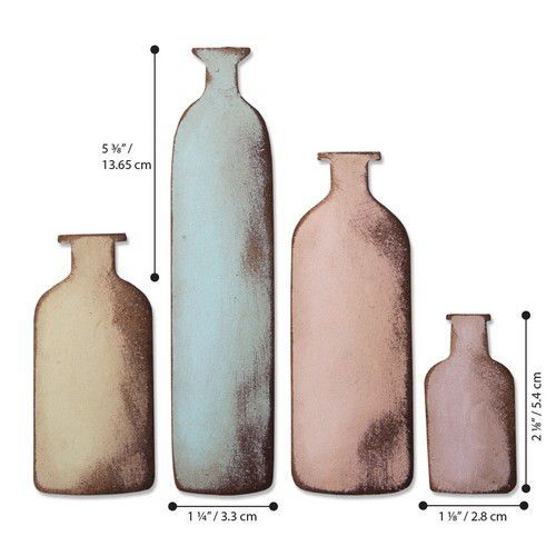 Sizzix Bigz Die - Bottled Up 664408 Tim Holtz (01-20)