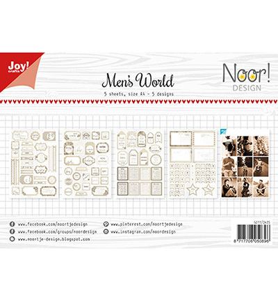 Joy!Crafts Labelvellen Noor Design Man