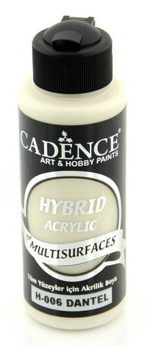 Cadence Hybride acrylverf (semi mat) Old Lace 01 001 0006 0120  120 ml