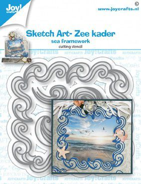 Joy!Crafts mallen Sketch Art- Zee kader