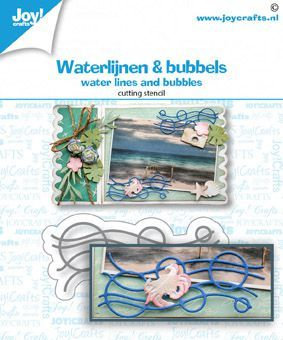 Joy!Crafts mallen Waterlijnen en Bubbels