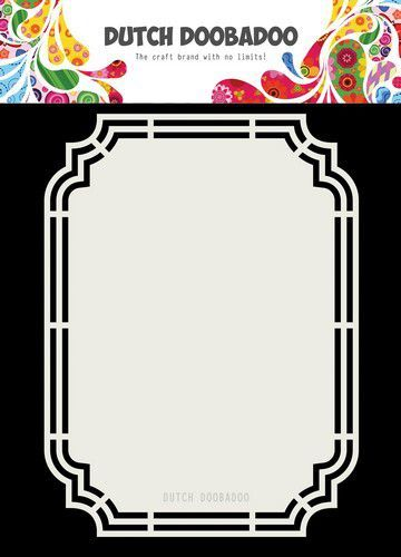 Dutch Doobadoo Dutch Shape Art Ticket A5 470.713.190 (05-20)