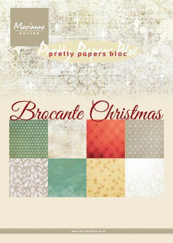 Pretty Papers Bloc PK9171 Brocante Christmas