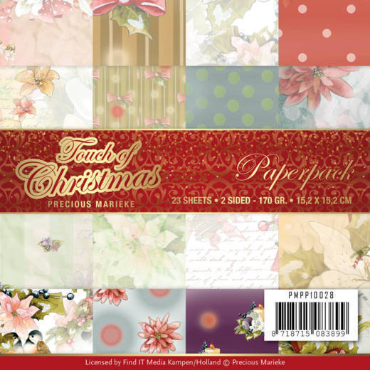 Precious Marieke paperpack Touch of Christmas