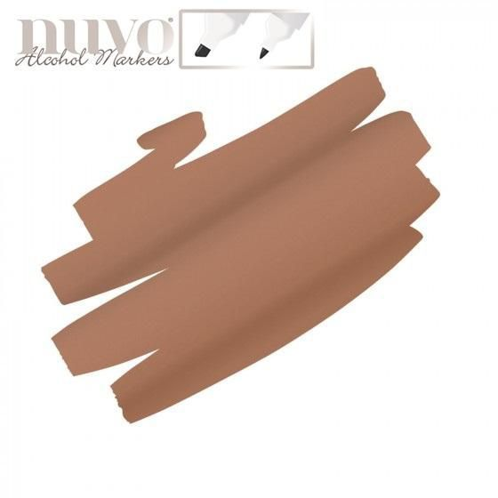 Nuvo Single alcohol marker - Rusted Bronze 504N
