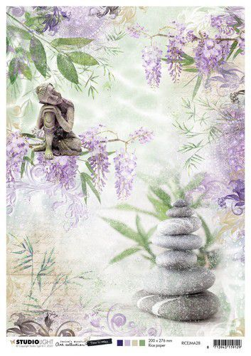 Studio Light Rice Paper A4 vel Jenine's Mindful Art 5.0 nr.28 (08-20)